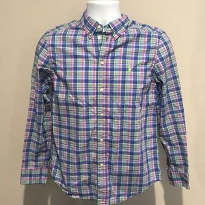 Ralph Lauren boys checkered shirt